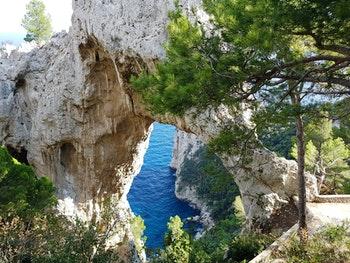 Italien, Capri, Arco naturale - ©Ria Heilmann