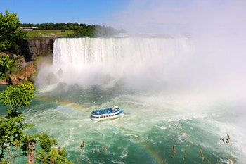 Niagara-Fälle - Kanadischer Hufeisenwasserfall - ©Eberhardt TRAVEL