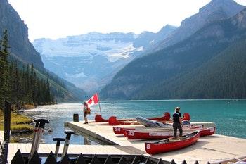 Lake Louise und Victoria-Gletscher im Banff-Nationalpark - ©Eberhardt TRAVEL