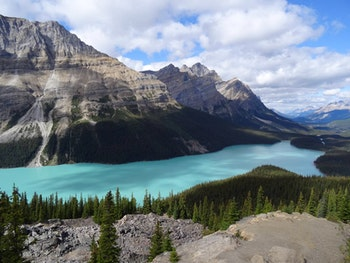 Peyto Lake am Icefields Parkway - ©Eberhardt TRAVEL