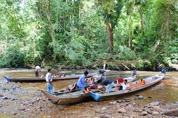 Bootsfahrt im Taman Negara Nationalpark - ©Eberhardt TRAVEL