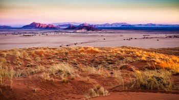 Sunset on Namib Naukluft Park, Sesriem, Namibia - ©©maraduchetti - stock.adobe.com