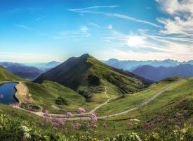 Reisebild: Rundreise Österreich - zu den Bergen des Kleinwalsertals