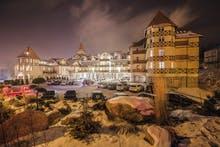 Außenansicht Winter Hotel St. Lukas, Copyright: Hotel St. Lukas