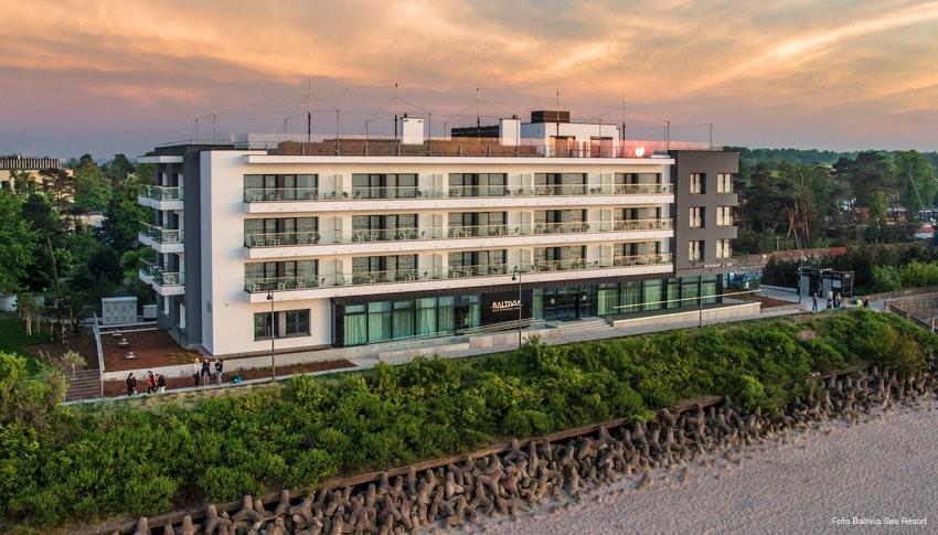 Kur Wellness In Polen 4 Sterne Hotel Baltivia Sea Resort