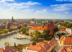 Reisebild: Breslau - die Hauptstadt Niederschliesens