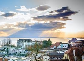Reisebild: Silvester am Genfer See - Französische Alpen
