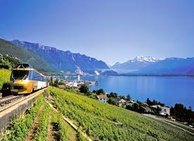 Reisebild: Zugreise Schweiz - die schönsten Panorama-Strecken