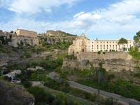 Cuenca - Huecar Schlucht mit Altstadt und Parador - ©Claudia Bernhardt