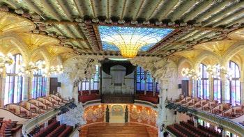 Konzertsaal Palau de la musica - ©Madlen Lippe