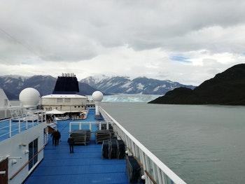 Kreuzfahrt mit der Norwegian Sun - Hubbard Gletscher - ©Juliane Voigt