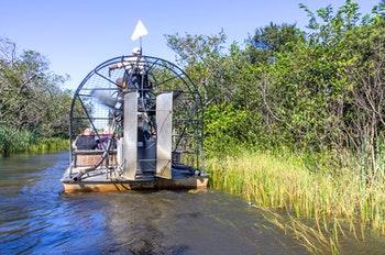 Luftboot in den Everglades - ©oneinchpunch - stock.adobe.com