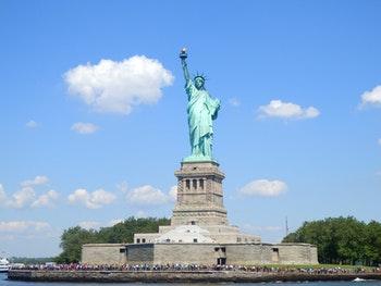 Freiheitsstatue auf Liberty Island vor New York - ©Eberhardt TRAVEL