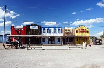 Seligman an der historischen Route 66 - ©petra - Adobe Stock
