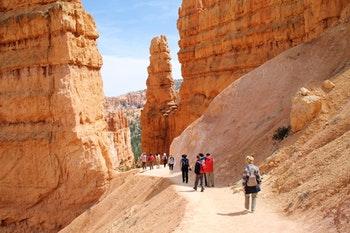 Wanderung im Bryce Canyon Nationalpark - ©Eberhardt TRAVEL