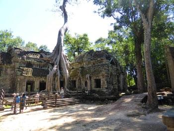 Dschungeltempel Banteay Kdei - ©Sabine Letzybyll