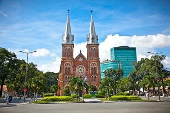 Notre-Dame-Kathedrale in Ho-Chi-Minh-Stadt - ©Aleksandar Todorovic - Adobe Stock