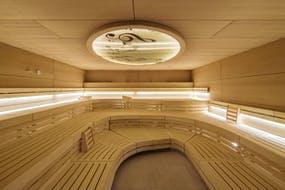 Hotel König Albert - Sauna in der Soletherme, Copyright: C. Beer