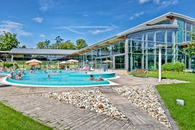Santé Royale Hotel- & Gesundheitsresort Bad Langensalza - Außenbereich der Friederiken Therme, Copyright: Detlef Klose
