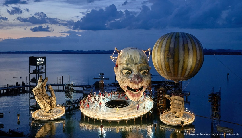 Reise Zu Den Bregenzer Festspielen Mit Besuch Der Auffuhrung