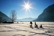Winterspaziergang am Achensee, Copyright: Achensee Tourismus