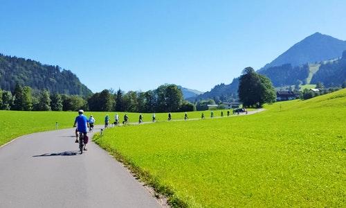 Radreise Kaiserwinkl