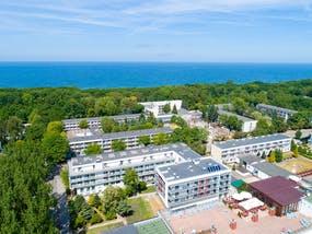 Hotel Koral Live - Luftansicht auf die Hotelanlage, Copyright: IdeaSpa