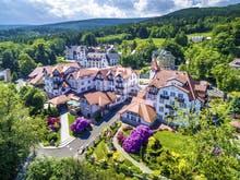 Park Hotel Flinsberg - Luftaufnahme des Geländes, Copyright: Park Hotel Bad Flinsberg