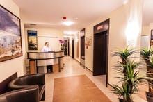 Eingang Kurabteilung Hotel Sobotka, Copyright: IdeaSpa