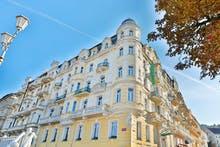 Hotel Belvedere - Außenansicht, Copyright: Hotel Belvedere - Marienbad