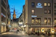 Hilton Dresden - Außen, Copyright: Hilton Dresden. Alle Rechte vorbehalten lt. §2UrhG.