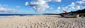 Strand beim Hotel, Copyright: Strandhotel Baabe