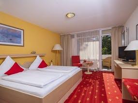 Kurhotel Panland - Zimmerbeispiel Doppelzimmer, Copyright: Kurhotel Panland