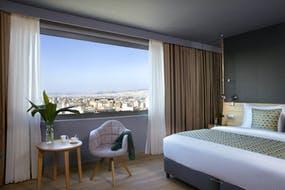 Standard Doppelzimmer Stadtblick Athen, Copyright: Hotel Wyndham Grand Athens