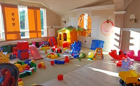 Spielzimmer im Hotel Sandra Spa in Pogorzelica, Copyright: Eberhardt TRAVEL - Kristin Weigel