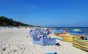 Strand von Pogorzelica an der polnischen Ostsee, Copyright: Eberhardt TRAVEL - Kristin Weigel