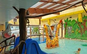Kinder-Badebereich im Wasserpark und Hotel Sandra Spa in Pogorzelica, Copyright: Eberhardt TRAVEL - Kristin Weigel