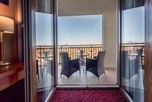 Rezydent Resort Swinemünde - Beispiel Balkon beim Doppelzimmer Komfort, Copyright: Rezydent Resort
