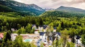 Luftaufnahme Green Mountain Hotel, Copyright: Mountain Hotel Gruppe