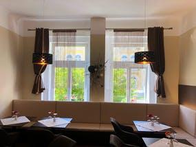 Franzensbad - Monti SPA Hotel - Café in der Hotelhalle, Copyright: MONTI SPA a.s.