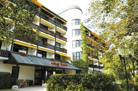Hoteleingang, Copyright: Kur- & Thermalhotel Ludwig Thoma