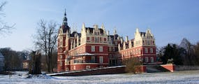 Fürst Pückler - Schloss im Winter, Copyright: Kulturhotel Fürst Pückler Bad Muskau