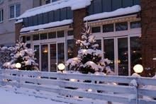 Terrasse im Winter, Copyright: Ringhotel Residenz Alt Dresden