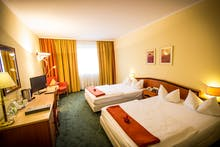 IBB Hotel Passau City Center - Zimmerbeispiel Doppelzimmer Standard, Copyright: IBB Hotel Passau City Center