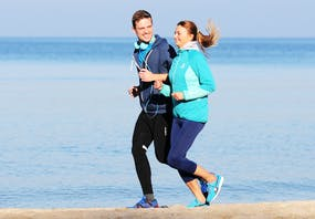 Jogging am Strand, Copyright: Hotel ProVita