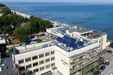 Luftaufnahme, Copyright: Hotel Lambert