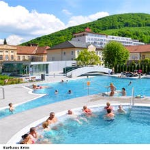 Trencianske Teplice - Kurhaus Krym Poollandschaft, Copyright: Kurhaus Krym In Trencianske Teplice