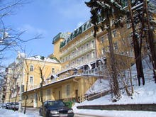 SPA Hotel Vltava - im Winter, Copyright: Eberhardt-Travel