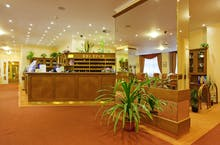 SPA Hotel Vltava - Rezeption, Copyright: Eberhardt-Travel