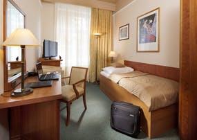 Kurhotel Dr. Adler in Franzensbad - Zimmerbeispiel Einzelzimmer Kategorie Komfort, Copyright: Kurhotel Dr. Adler in Franzensbad